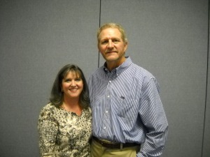 Don and Lisa at Don's retirement from Atmos Energy, September, 2011