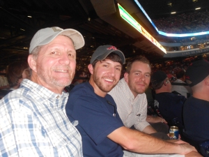 Don, Brent, and Dan at Braves Game