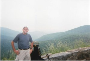 Don's Brother in the Shenandoah National Park