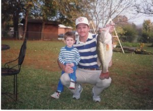 Brent, Don, and a Big Bass